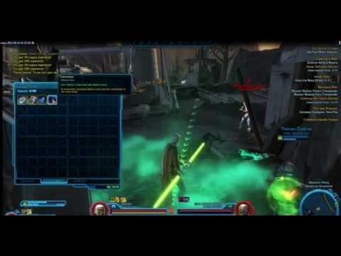 SWTOR Jedi Shadow Gameplay