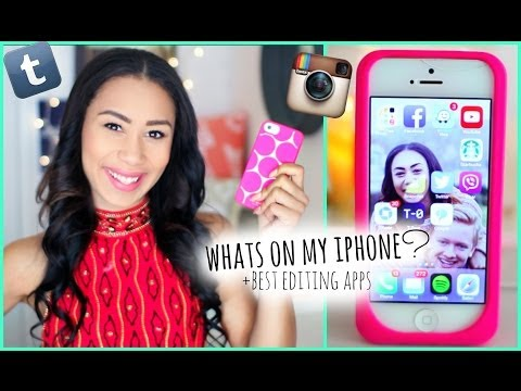 What's On My iPhone 5? + How I Edit Instagram Photos!