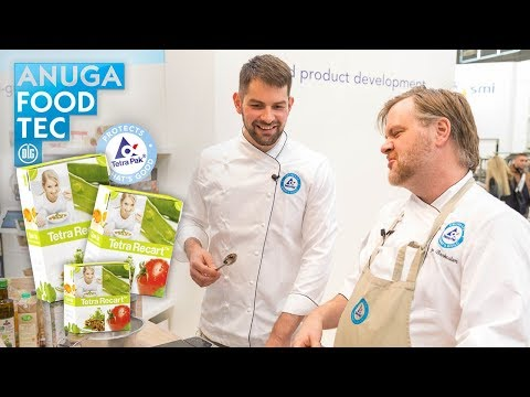 Cooking with Tetra Recart at Anuga FoodTech 2018 - Warren Nash