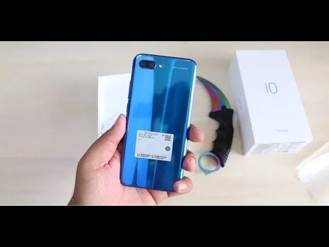 Honer 10  Smartphone Unboxing & Overview with Camera