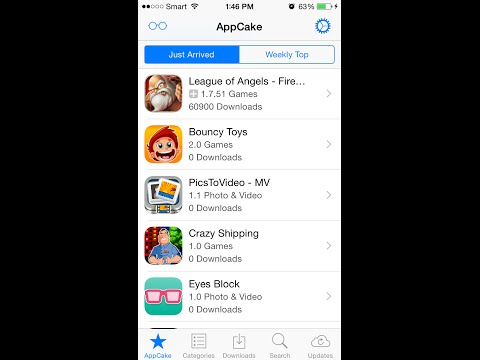 iOS 7/8/9 Jailbreak: Install/Get PAID Apps for FREE - All Jailbroken iPhone/iPad/iPod(AppCake)