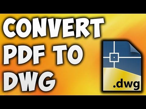How to Convert PDF to DWG Online - Best PDF to DWG Converter [BEGINNER'S TUTORIAL]