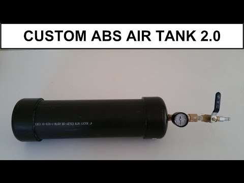 DIY - Custom Portable ABS Air Tank V2.0