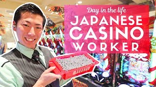 Day in the Life of a Japanese Casino Worker Pachinko