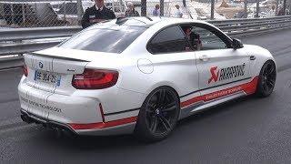 Tuned BMW M2 F87 Making Some Noise in Monaco! - Akrapovic vs Fi Exhaust Sound!