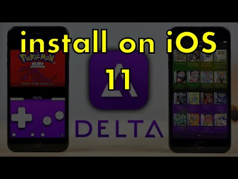 How to install Delta Emulator on iOS 10-11.3 (Latest*) without pc or jailbreak