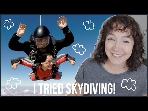 Facing My Biggest Fear   I Tried Skydiving!!