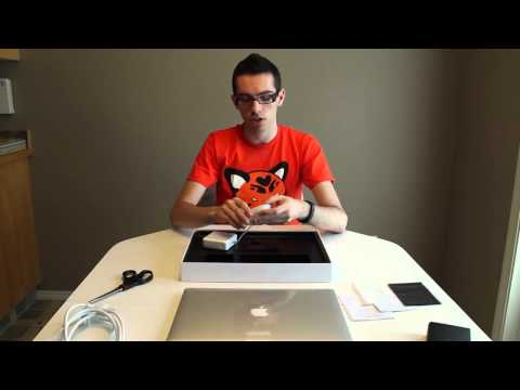Unboxing Apple MacBook Pro 2012  + video review - How to get free Macbook pro