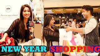 Mohena & Rishi on Shopping Spree For New Year 2018 | Yeh Rishta | Telly Reporter Exclusive