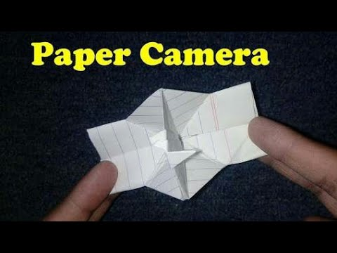 Paper Camera Creative paper Craft works for children paper camera how to make paper camera easy