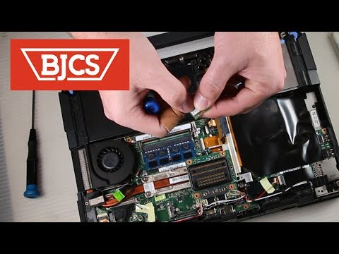 How To Replace the Dell Latitude 14 Rugged 5404 RAM & Wifi Card