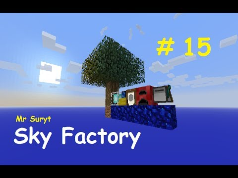 Sky Factory. Minecraft. Ep15. Weed Farming.