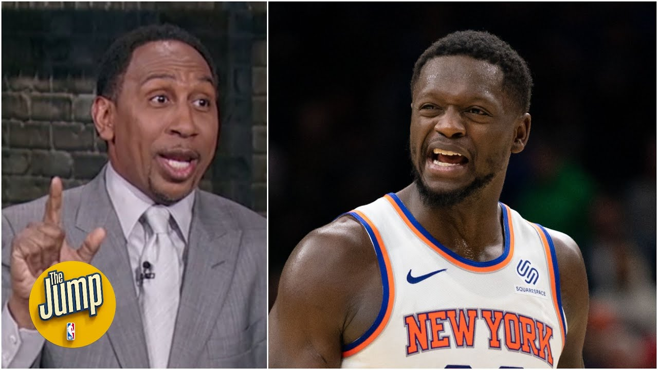 Stephen A. joins The Jump and is FIRED UP about Julius Randle and the Knicks!
