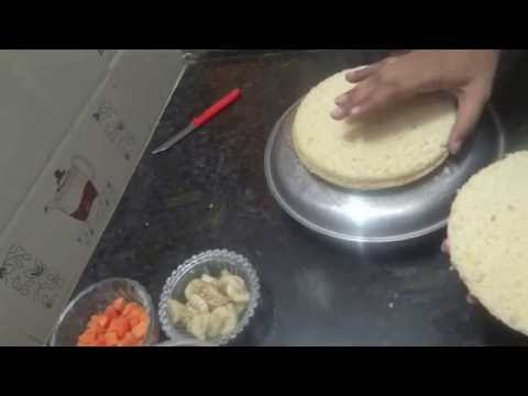 How to Layer a cake | Easy way to layer a cake with thread.