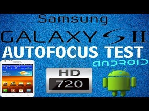 Samsung galaxy s2 auto focus test 720p HD