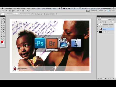 Help-Portrait Photoshop Watermark Tutorial