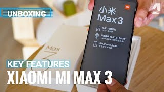 Xiaomi Mi Max 3 unboxing and key features