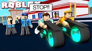 Roblox Adventures - VOLT BIKE ROBBERY IN JAILBREAK! (Roblox Jailbreak)