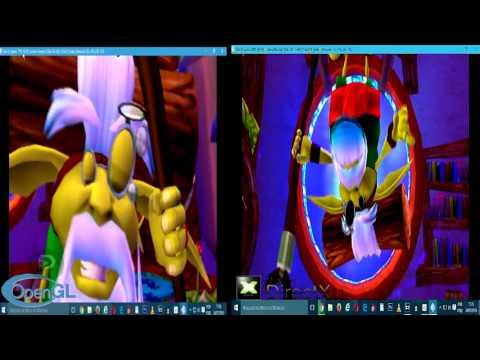 OpenGL vs DirectX l PCSX2 =Jak and Daxter: The Precursor Legacy(TEST = AMD HD7850 1GB + WIN 10 x 64)