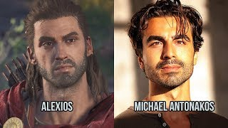 assassins creed odyssey alexios actor