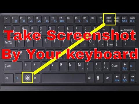 Take Screenshot On windows 7,8,8.1,10
