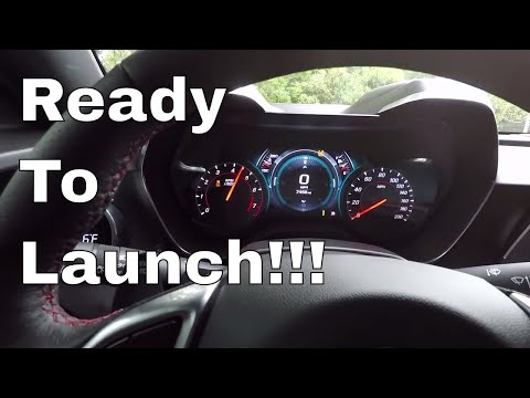 How To Use Launch Control On A Manual 2017 Camaro SS