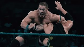 Astounding slow-motion footage of John Cena vs. Baron Corbin: Exclusive