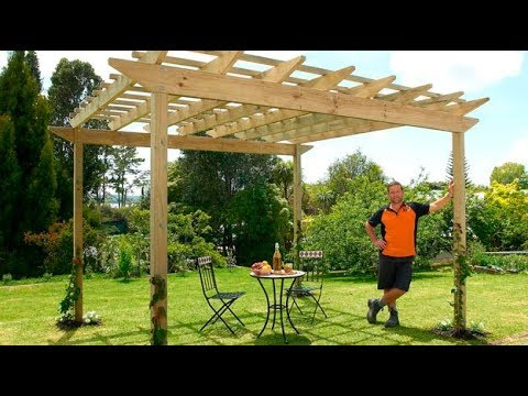 How to Build a Pergola | Mitre 10 Easy As