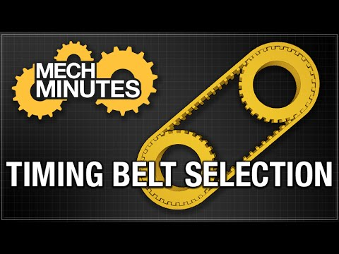 TIMING BELTS & PULLEYS PT. 1: BELT SELECTION | MECH MINUTES | MISUMI USA
