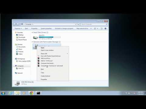 How to Open the CD Player on an Acer Laptop : Windows 7 & More