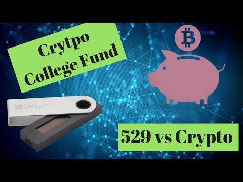 Build a Crypto College Savings Plan - Step aside 529 - College RICH!