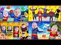 LOTS Of FUN Kid SONGS Superhero Babies Sing Along Song For Kids Baby Superheroes Sing Nursery Rhymes