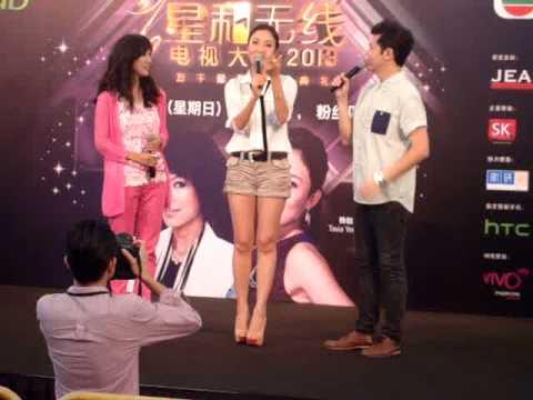 Tavia Yeung supports Kenneth Ma as Starhub TVB Awards male lead 2013