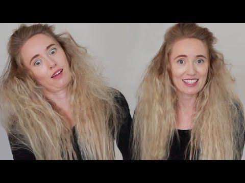 Crazy Zombie Hair Tutorial