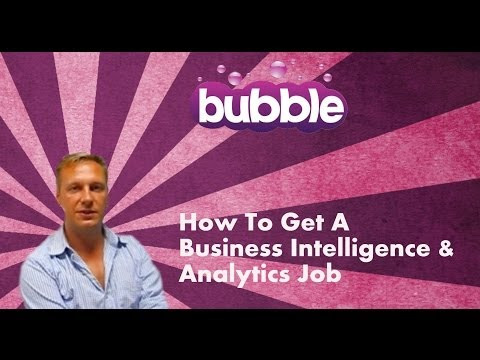 How To Get A Business Intelligence & Analytics Job - Digital Careers Guide by Bubble Jobs Episode 20