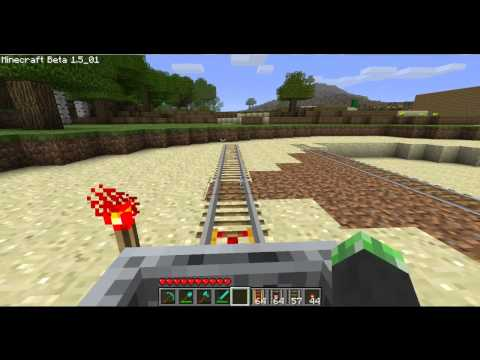 Minecraft : How to make Detector Rails and Powered Rails