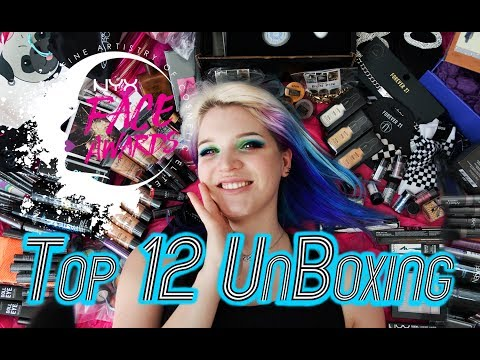 TOP 12 UNBOXING | Ft. Alice | Face Awards 2017
