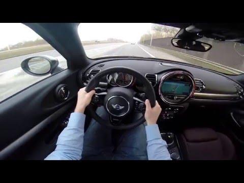 2015 MINI Clubman Cooper S 192HP POV test drive GoPro