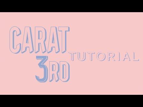 CARAT 3RD GEN SIGN UP TUTORIAL 💎