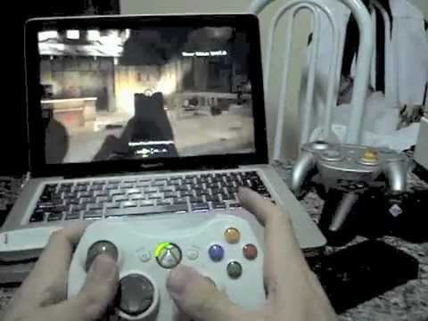 Play Call of Duty 4 on Mac with Xbox 360 Controller - Joystick Mapper
