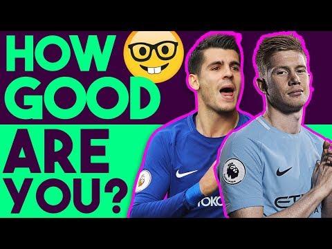 Are You A Football Genius? Premier League Football Quiz