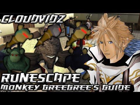 Runescape Monkey GreeGree Guide HD