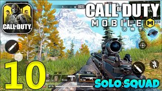 CALL OF DUTY MOBILE BATTLE ROYALE - Solo Squad Gameplay - 10