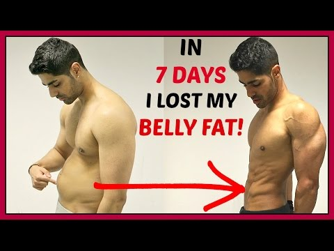 How To Lose Belly Fat For TEENAGERS At Home In 1 Week
