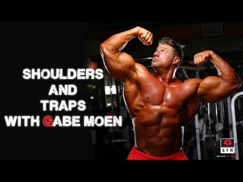 Less then 2 Weeks Out!!! Get Pumped with Gabe Moen on Shoulders & Traps!!!