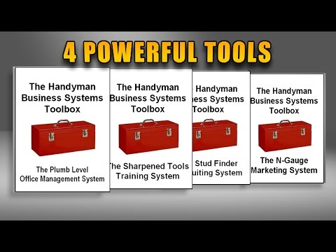 The Handyman Business Systems Toolbox