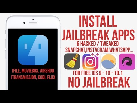 Get Jailbreak Apps IFile, ICleaner, ITransmission, & Flux No Jailbreak iPhone, iPad, iPod
