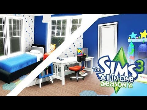 LEVI'S ROOM MAKEOVER | THE SIMS 3 ALL IN ONE!