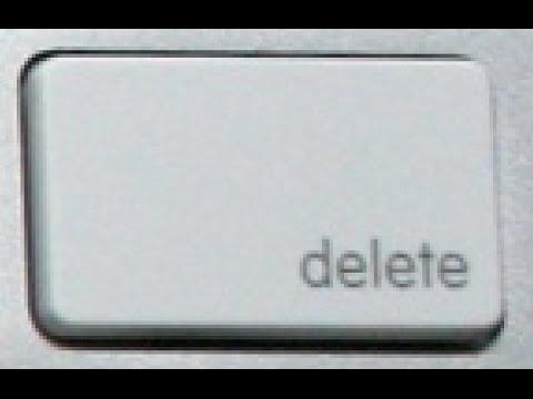 Delete & Volume Mac keyboard Keys Lesson