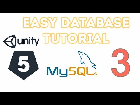Unity 5 - Easy Database 3 (Getting Data from Server to Unity )